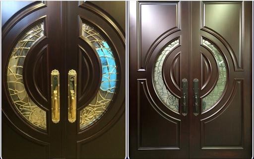 double wooden door design 1.0 Screenshots 2