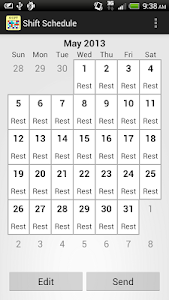 Shift Calendar (since 2013) 1.71.5
