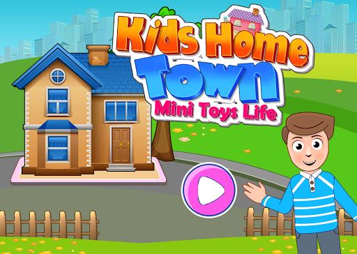 Kids Mini Home Family Life - My Toys House Town Apkfinish screenshots 1