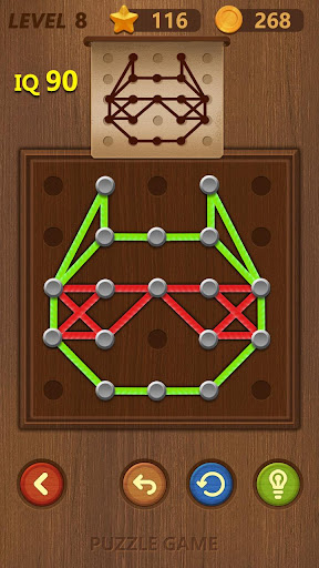 Line puzzle-Logical Practice 2.2 screenshots 2