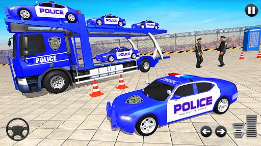 Grand Police Vehicles Transport Truck  Screenshots 1