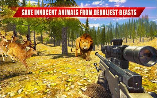 Animal Hunting Sniper Shooter: Jungle Safari filehippodl screenshot 6