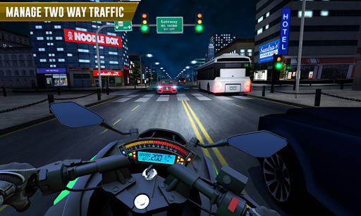 Police Moto Bike Highway Rider Traffic Racing Game  Screenshots 3