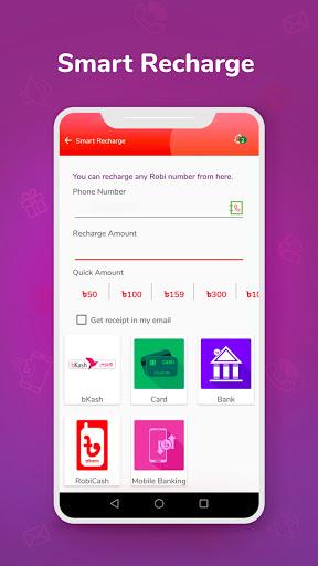 My Robi: Balance Check, Recharge & Bundles! apktram screenshots 2