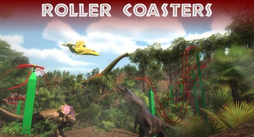 VR Jurassic - Dino Park & Roller Coaster Simulator apktram screenshots 16