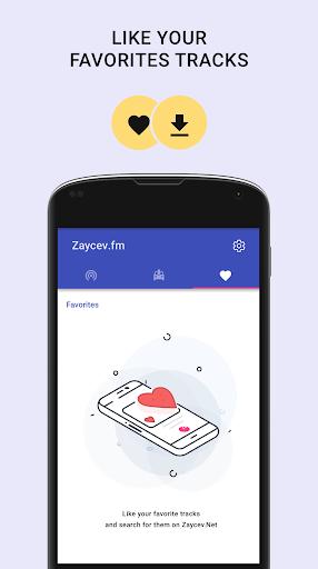 Online radio - Zaycev.fm. Listen radio offline android2mod screenshots 4