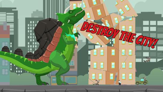 Hybrid Titan Rex: City Rampage MOD APK 0.3 (Unlimited Banknotes) 2
