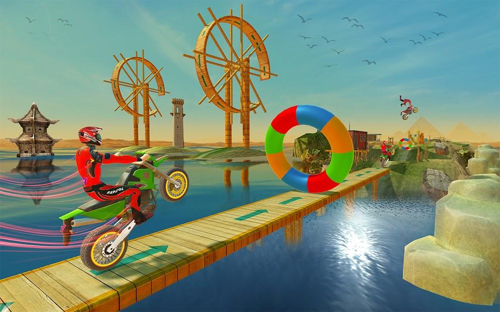 Impossible Tracks Bike Race Motorcycle Stunts screenshot 4