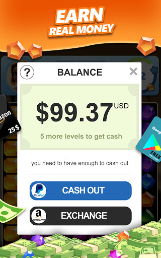 Jewel Blast & Diamond Crush Puzzle Game to BIG WIN android2mod screenshots 7