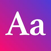 Aa - Aesthetic Fonts Keyboard & Emoji Text Letter