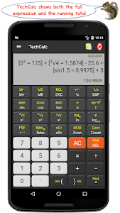 TechCalc Scientific Calculator 4.7.0