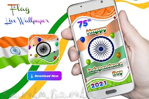 Indian Flag Live Wallpaper - Independence Day