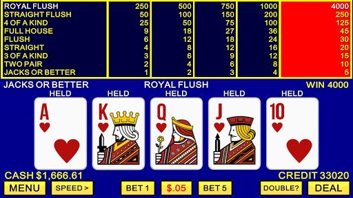 Video Poker u2660ufe0fu2665ufe0f Classic Las Vegas Casino Games screenshots 1
