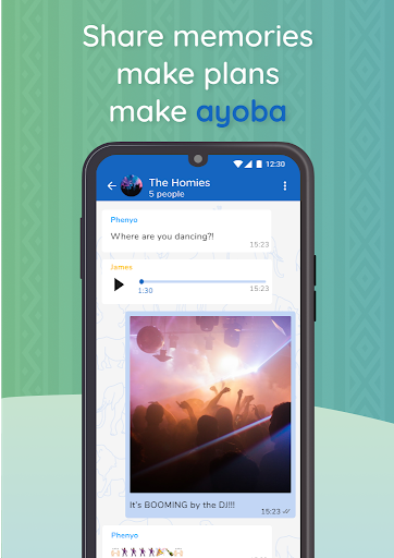 Ayoba! Free instant messaging 0.36.1 Screenshots 5