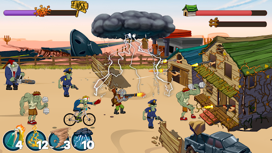 Zombies Ranch MOD APK (Unlimited Ammo/Money) 3