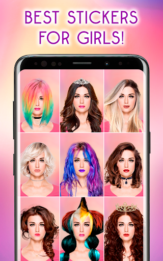 Hairstyles Photo Editor 1.3.8 Screenshots 2