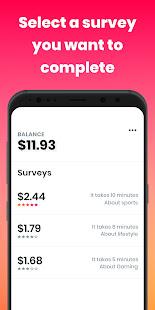 Poll Pay: Earn money, cash & gift cards /w surveys 6.0.0 Screenshots 2