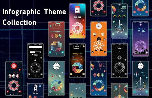 Compact Hitech Launcher - sci-fi, win style Themes 4.0 Screenshots 3