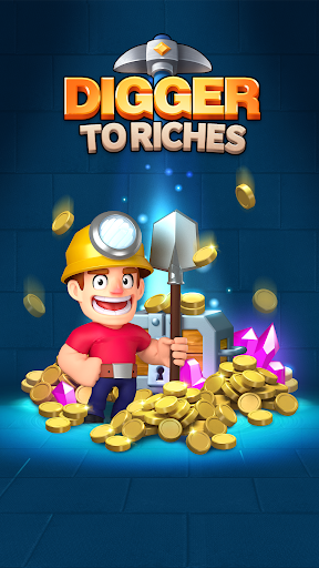 Digger To Riches: Idle mining game Latest screenshots 1
