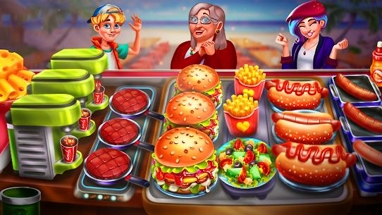 الطبخ اللذيذ: ألعاب طبخ مطعم الشيف 1