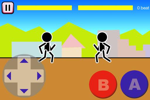 Fighting games Mokken: stick man battle modavailable screenshots 1