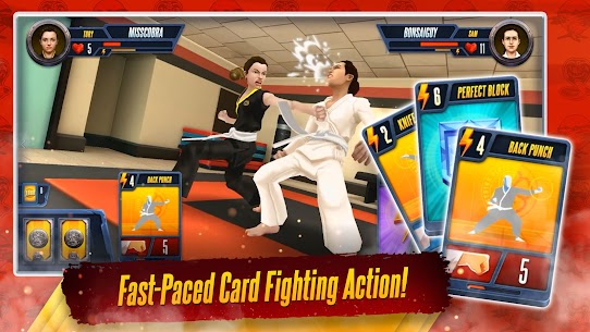 Cobra Kai: Card Fighter MOD (Unlimited Money) 1