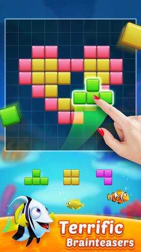 Block Puzzle Fish u2013 Free Puzzle Games modavailable screenshots 1