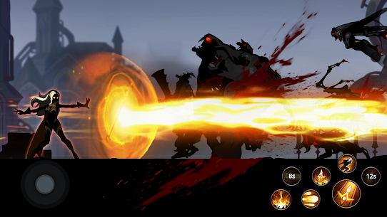 Shadow Knight MOD APK (God Mode) free on Android 4