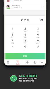 Who calls Caller name id, Safe calls SMS Blacklist Screenshot