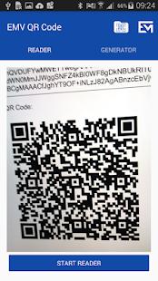 EMV QR Code Reader & Generator