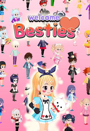 Besties - Make friend & Avatar apkpoly screenshots 11
