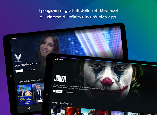 Mediaset Infinity TV apktram screenshots 6