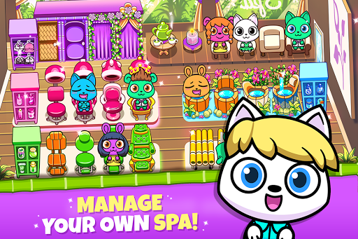 Forest Folks - Your Own Adorable Pet Spa 1.0.3 screenshots 1