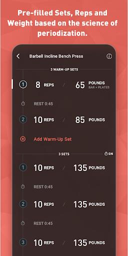 Fitbod Workout & Fitness Plans 2.0.3 Screenshots 6