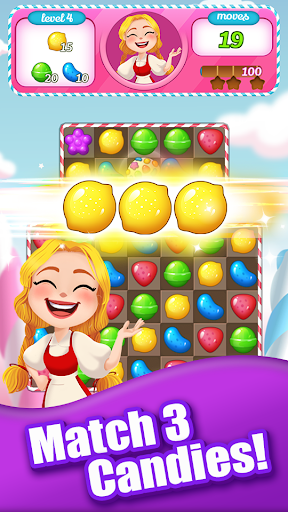 Sweet Candy Bomb: Crush & Pop Match 3 Puzzle Game 1.0.5 screenshots 6