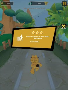 Garfield Run: Road Tour Screenshot