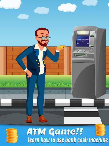 bank atm simulator learning - atm cash machine screenshot 1