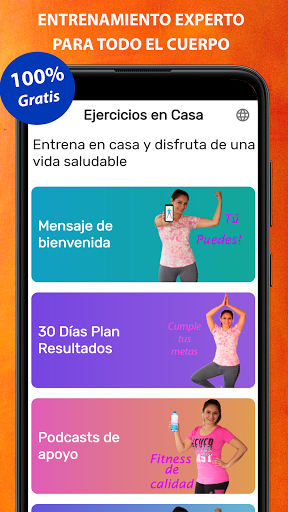 Foto do Exercises at home to lose weight and tone woman