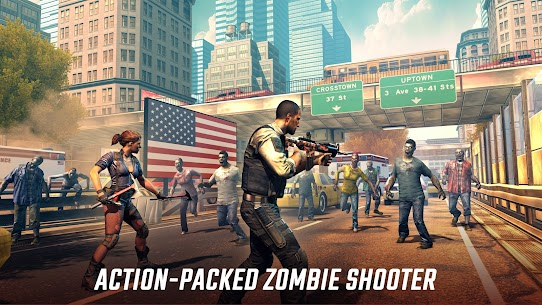 UNKILLED – Zombie Games FPS MOD APK 2.1.2 (Unlimited Ammo, Auto Heal) 9