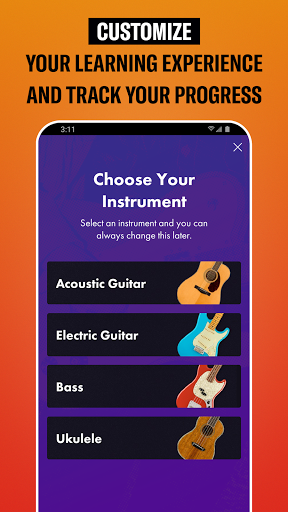 Fender Play - Learn Guitar apktram screenshots 3