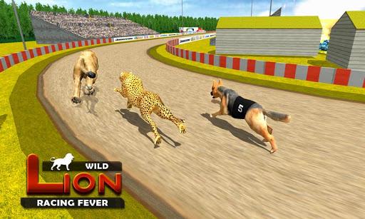 Wild Lion Racing Fever : Animal Racing apkdebit screenshots 4