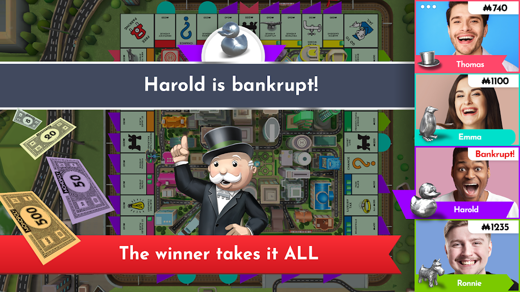 Monopoly - Board game classic about real-estate! poster 12