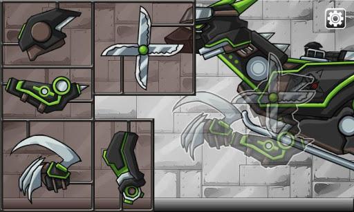 Ninja Velociraptor-Combine!Dino Robot:DinosaurGame 2.0.1 screenshots 2