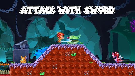 Jungle Bounce - Jump and Run Adventure android2mod screenshots 3