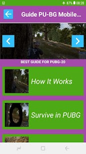 Tips for PU8G Mobile Battle Survival Royale Guide 4