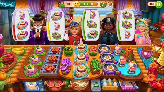 Hell's Cooking: Crazy Burger, Kitchen Fever Tycoon Mod Apk 1.80 (A Lot of Gold Coins) 1