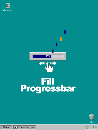 Progressbar95 - easy, nostalgic hyper-casual game Apkfinish screenshots 20