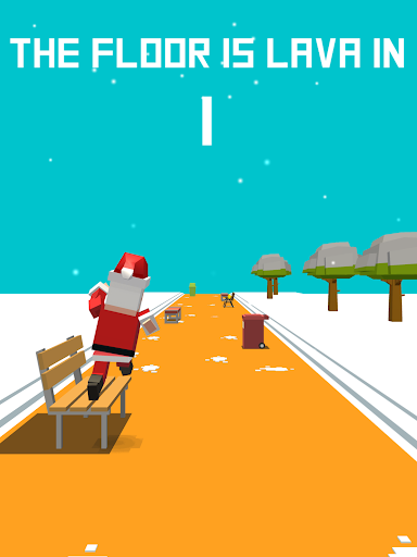 Xmas Floor is Lava !!! Christmas holiday fun ! apkpoly screenshots 10