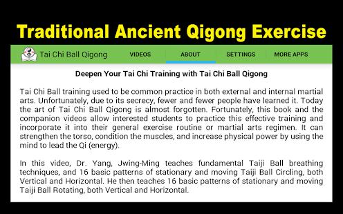Tai Chi Ball Qigong (Dr. Yang)