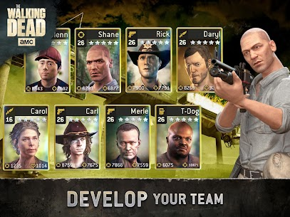 The Walking Dead No Man's Land Unlimited Gold Apk 9